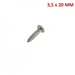 TORNILLO CHIPBOARD RANURA PHILLIPS   3.5*20 CAJA 100 UND