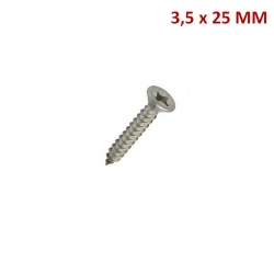 TORNILLO CHIPBOARD RANURA PHILLIPS   3.5*25  CAJA 100 UND
