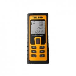 MEDIDOR LASER 80 MT TOLSEN 35071